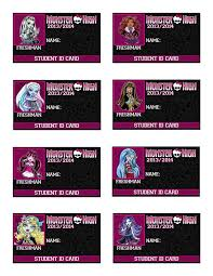 high party supplies printable high id cards set 1 high party