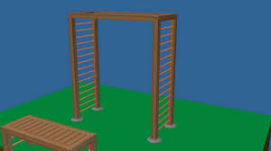 Arbor Bench Plans by How To Build A Bench And Arbor Youtube