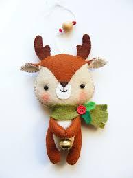 pdf pattern reindeer felt by imanufatti