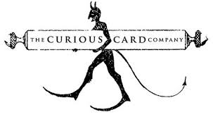 luxury greeting cards for the darkly curious the curious card