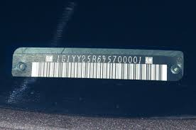 where are the visible vin tags located on an em1 honda tech