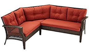 Outdoor Patio Furniture Sectional Palermo 3pc Outdoor Patio Furniture Sectional