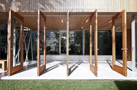 Bi Folding Glass Doors Exterior Foldable Door Design Antique Folding Door Design Exterior Folding