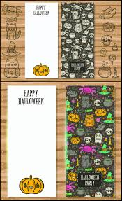 Halloween Birthday Party Invitations Templates by Invitation Vector Graphics Blog