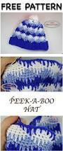 peek boo hat free crochet pattern nicki u0027s homemade crafts