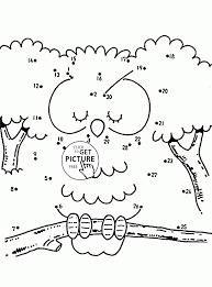 dot to dots worksheets for kindergarten activity shelter kids free
