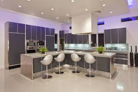 modern kitchen bar table interior design