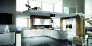 magasin cuisine le havre cuisine aménagée contemporaine arrondie et laquée mobilier féc