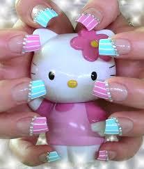 design selber machen perlen strass nageldesign in rosa blau zum selber machen für