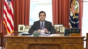 Desk In Oval Office by The Office On Twitter