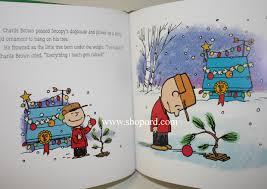 hallmark peanuts a charlie brown christmas hardcover book 50 years