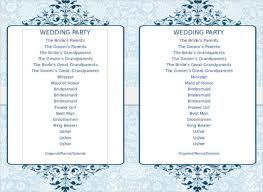 blank wedding program templates great program templates word images resume ideas bayaar info