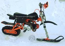 motocross snow bike 1982 honda z50 custom snow mini trail bike snow monkey one of