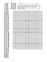 coordinate plane graphing spongebob coordinate plane graphing activity by nich takehara tpt