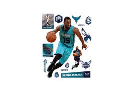life size kemba walker fathead wall decal shop charlotte hornets kemba walker fathead wall decal kemba walker fathead wall decal