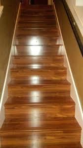 Installing Laminate Flooring On Stairs Installing Laminate Stair Nose Image Of Stair Nose Molding Oak