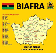 Nigeria State Map by Biafra Ndyc Warn Ipob To Delete Niger Delta From Map
