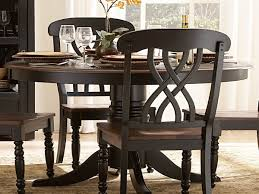 Black Wood Dining Room Table amazon com 48