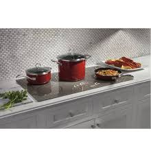 Kitchenaid Induction Cooktop 36 Zhu36rsjss In Silver By Ge Appliances In Crown Point In