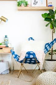 Cushioned Butterfly Chair by Make This Diy Butterfly Chair Makeover In One Afternoon