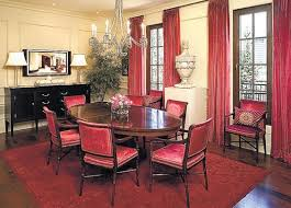 red dining room curtains 11988