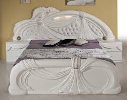 White Classic Bedroom Furniture Gina White Italian Classic Bedroom Set Made In Italy