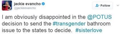 trump rescinds transgender bathroom rules from obama era bbc news