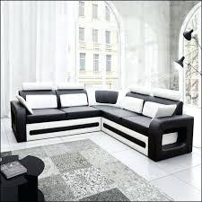canap d angle cuir blanc design canape d angle noir et blanc bevnow co