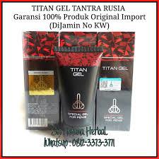 jual prodak import titan gel garansi original pembesar terbaik