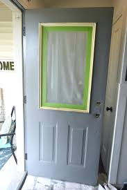How To Paint An Exterior Door Front Doors Awesome Paint Metal Front Door For Modern Home Can I