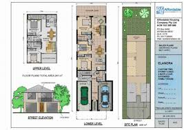 narrow lake house plans narrow lot luxury house plans home decor double storey interior