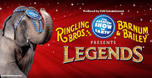 Barnes And Bailey Circus Ringling Bros And Barnum U0026 Bailey Presents Legends November 19