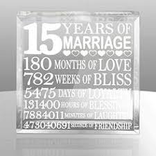 15th wedding anniversary gift 15th wedding anniversary cotton print 15th by cottoncelebrations