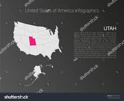 United States Map Template by United States America Aka Usa Map Stock Vector 519871924