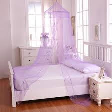 Sheer Bed Canopy Casablanca Galaxy Collapsible Hoop Sheer Bed Canopy Purple