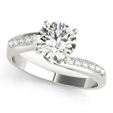 gold engagement rings 500 gold engagement ring stylish cut side bypass