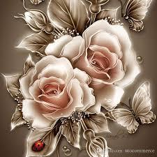 Golden Roses 2017 Modern Decorative Diamond Painting Golden Rose Flower Resin