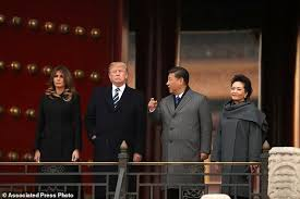 trump holds talks with xi after lavish welcome in china
