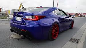 lexus rc modified jp u0027s lexus rc f w armytrix header back exhaust loud