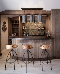 Wood Bar Cabinet 41 Creative Reclaimed Wood Bar Design Ideas