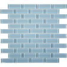 1 u0027 u0027 x 3 u0027 u0027 blue glass uniform brick tile glossy c09 2