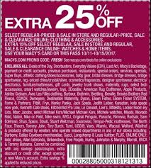 macy s coupons printable coupons in store coupon codes