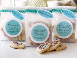 favor cookies recipe dreidel sprinkle cookies gift favor ideas from