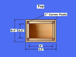 Build A Toy Box With Lid by Free Wooden Box Plans How To Build A Wooden Box