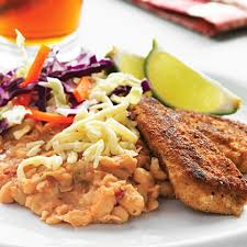 438 best kid friendly dinners images on pinterest chicken golden chicken with spicy refried beans recipe eatingwell
