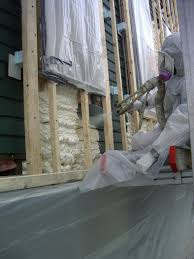 Spray Insulation For Basement Walls Getting Insulation Out Of Your Walls And Ceilings