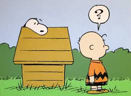 snoopy and charlie brown peanuts painting
