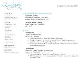 examples of teacher resumes how to create the perfect yoga teacher resume the yoga nomads here s an example from my own resume