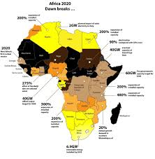Subsaharan Africa Map Gcr The Electrification Of Africa