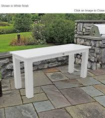 outdoor poly furniture highwood furniture buffet dining height